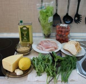 Цезарь ингредиенты