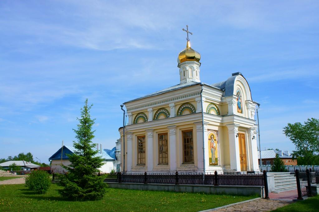 Храм-часовня Во Имя Святого Николая Чудотворца