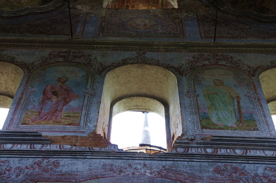 Церковь Илии Пророка(фрески)