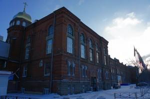 Епархиальное училище. Новое здание.