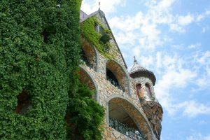 замок Влюблённый в ветер