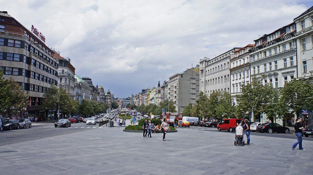 площадь Святого Вацлава