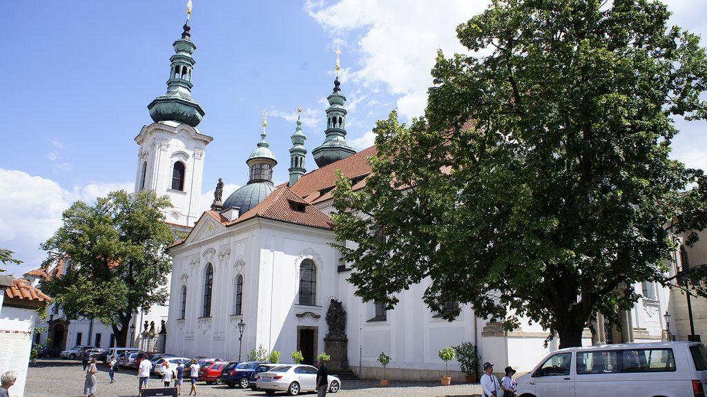 Страговский монастырь. Базилика Вознесения Девы Марии