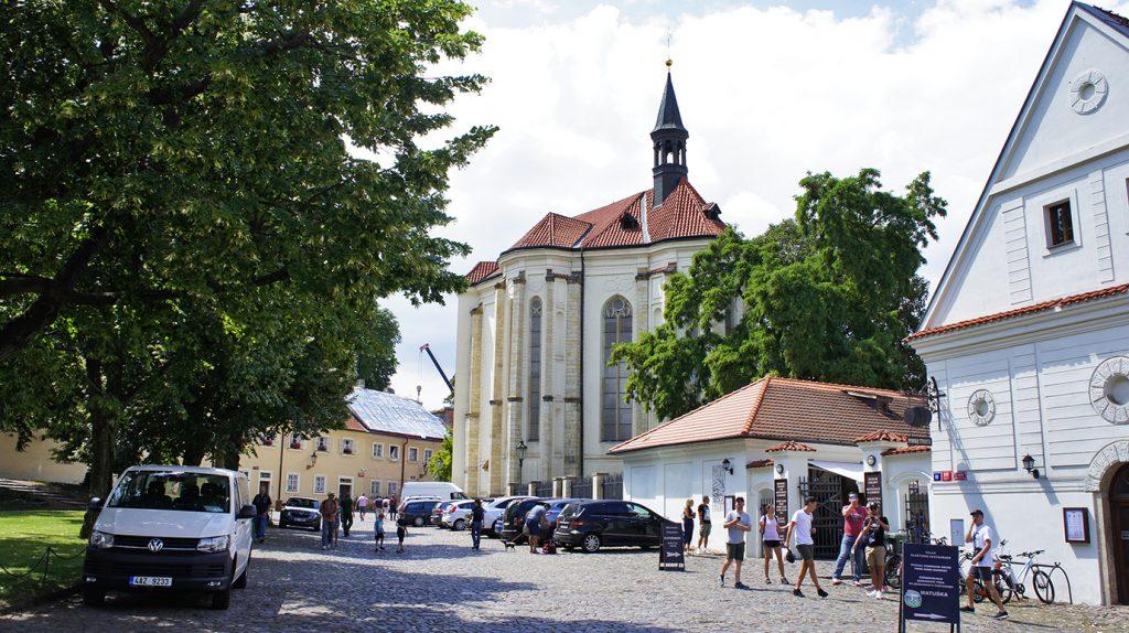 Страговский монастырь. Костёл Святого Роха
