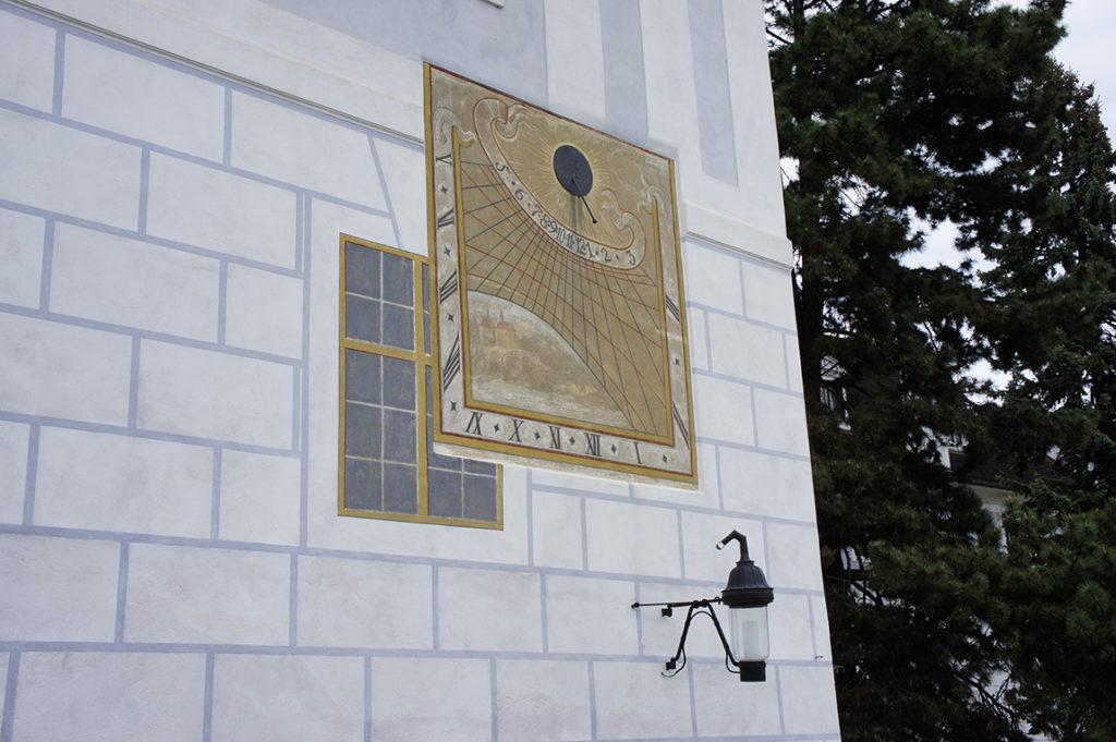 солнечные часы Барочного театра