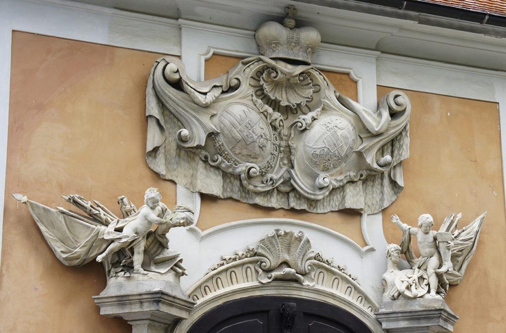 гербы владельцев Крумлова