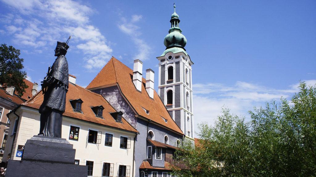 башня костёла святого Йошта