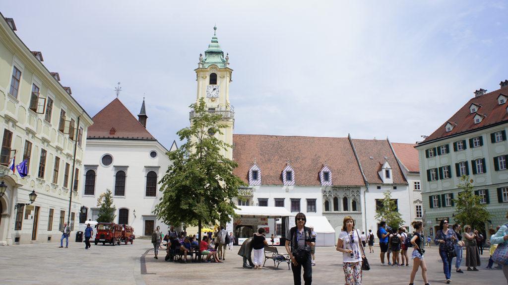 Центральная площадь Старого города
