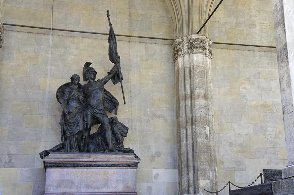 памятник баварской армии