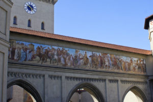 фреска Изарских ворот
