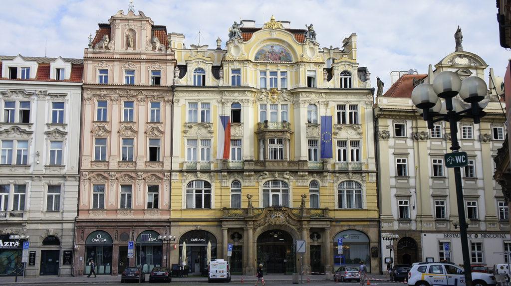северная часть Староместской площади