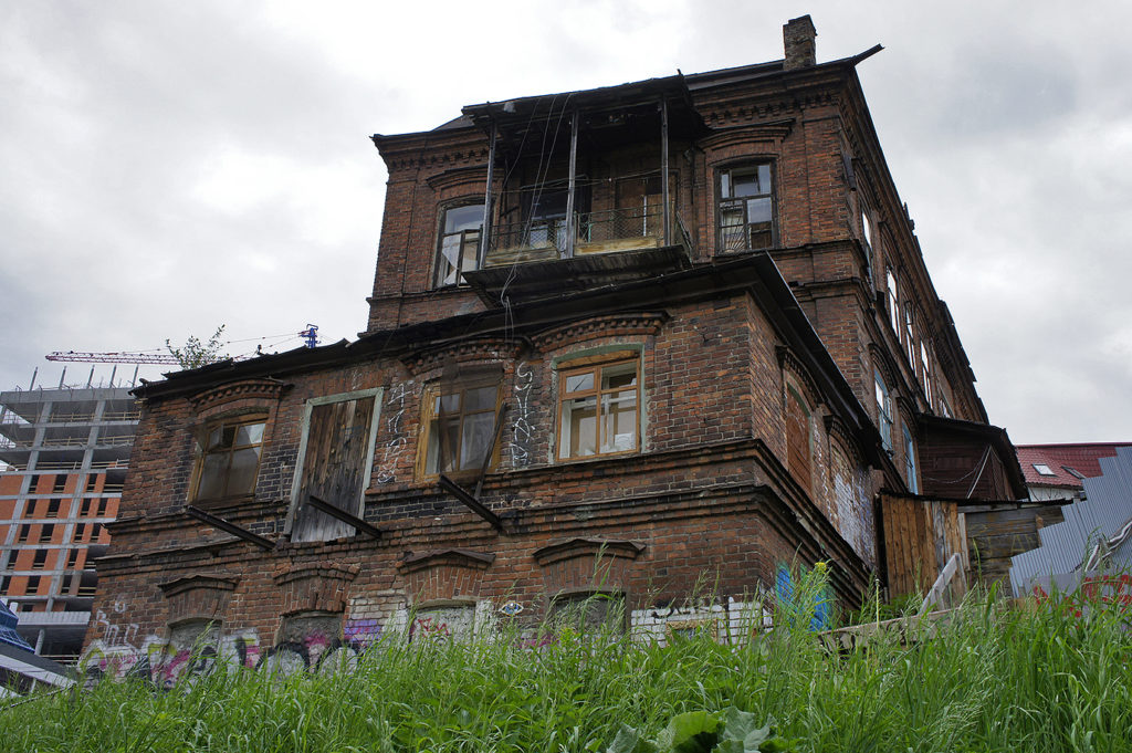 Доходный дом купца В.И. Чувильдина