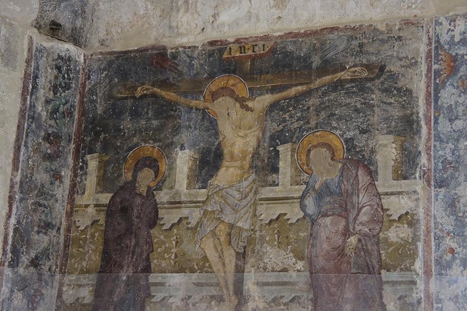 фреска Распятие